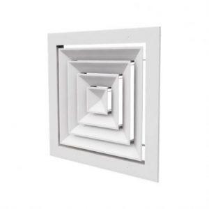 دریچه سقفی چهارگوش کلاف دور باز3